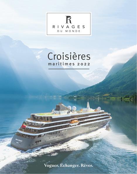 Brochure croisières maritimes 2022