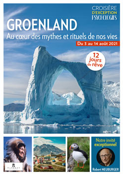Brochure croisière Psychologie Groenland