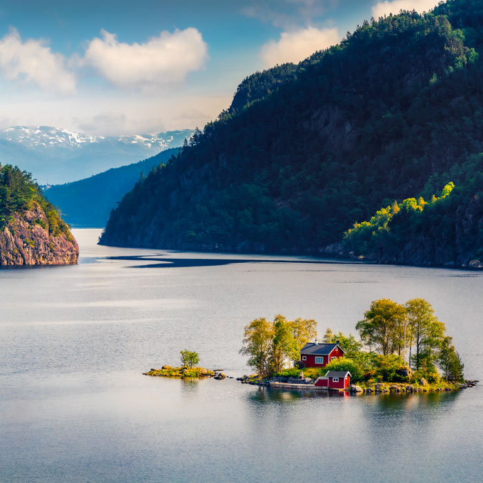 Croisière fjord