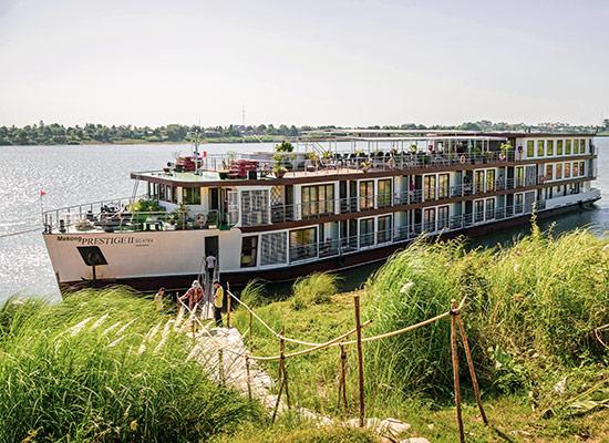 croisière Mékong bateau