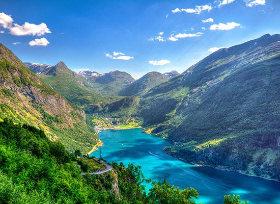 Fjords de Norvège Geirangerfjord