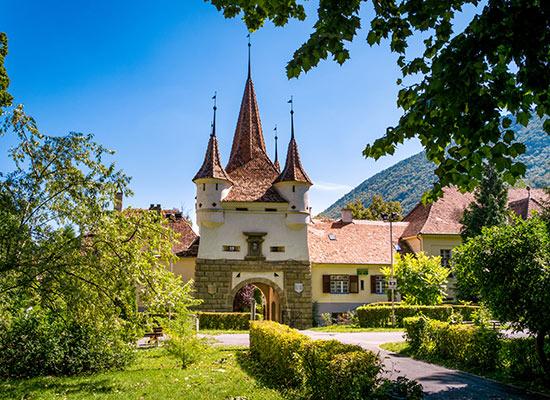 remparts de Brasov Transylvanie