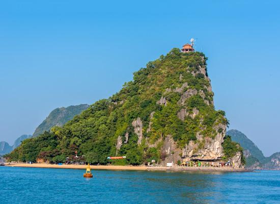 Baie d'Halong île de Ti Top