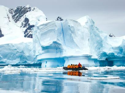 Croisière de luxe Antarctique