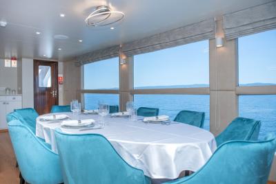 Adriatic Blue- Bateau de croisière - Restaurant