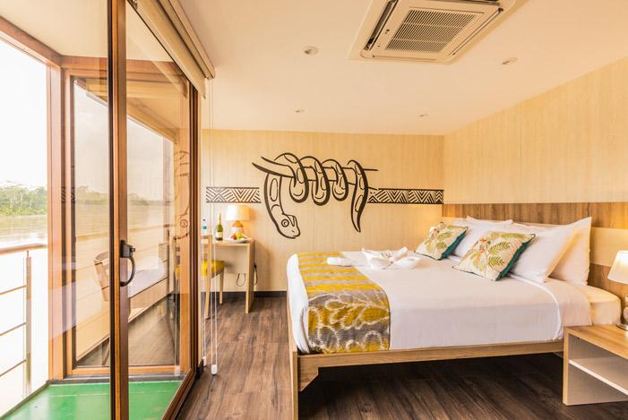 Deluxe Suite balcon