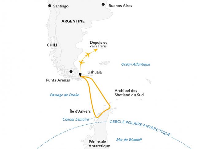 Croisière a la découverte du 7e continent