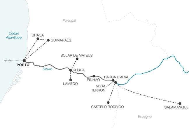 Croisière L'Or du Douro