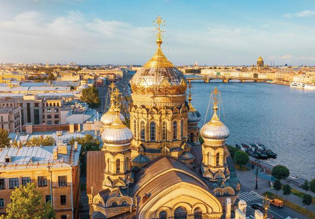 Croisière La Voie des Tsars de Moscou à Saint-Pétersbourg