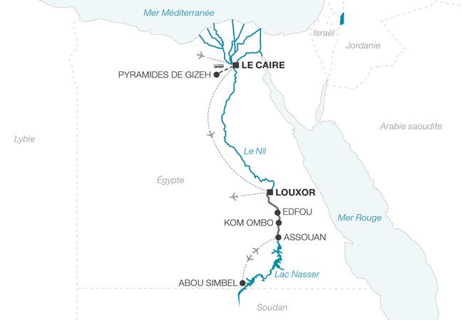 Croisière le Nil sur un bateau de légende