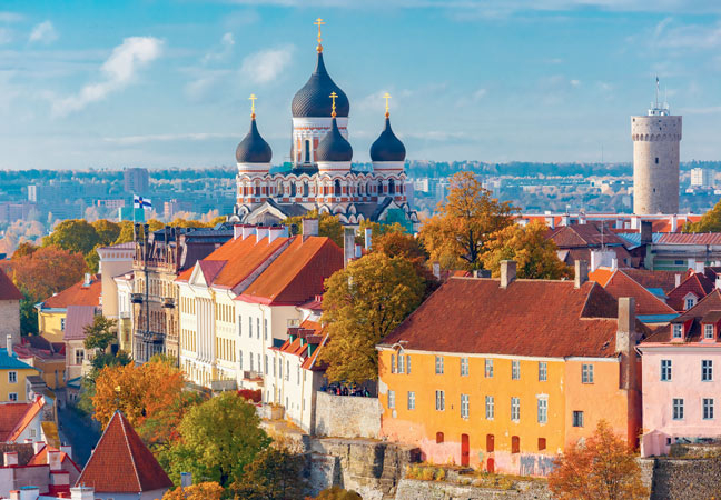 Croisière Saint-Pétersbourg et les capitales baltiques
