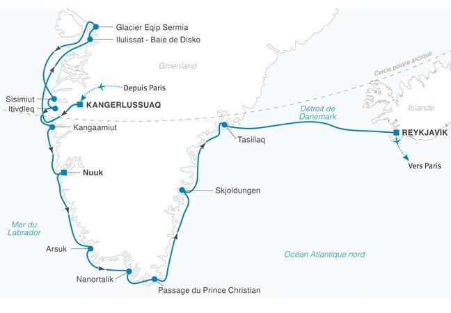 Croisière Villages inuits au Groenland