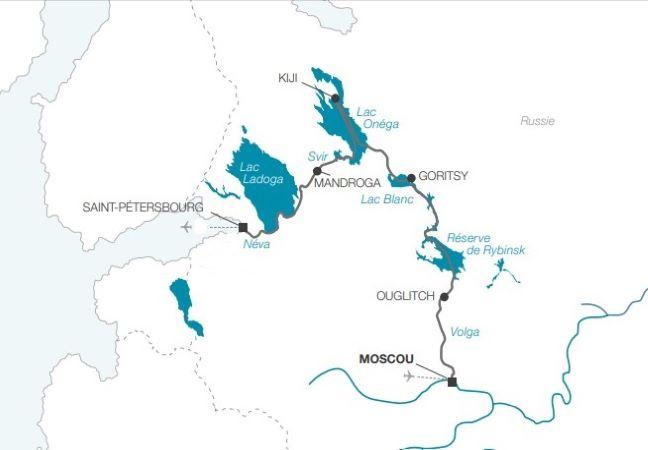 Une sélection NOTRE TEMPS : Croisière Au fil de la Volga de Moscou - Saint-Pétersbourg