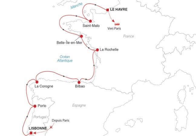 Une sélection NOTRE TEMPS : Croisière de Lisbonne au Havre