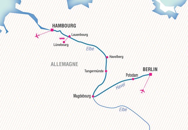 MEZZO : Croisière et musique, de Berlin à Hambourg