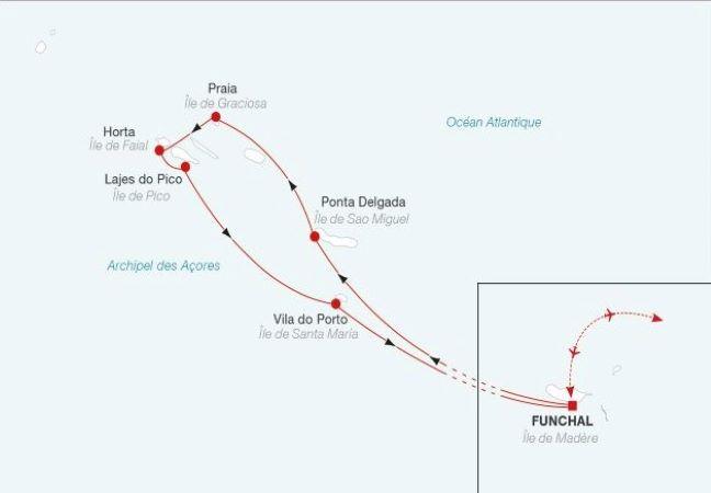 Croisière de Madère aux Açores