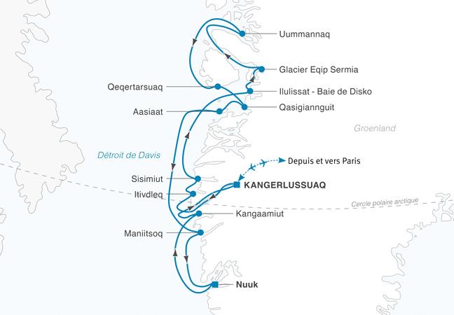 Croisière Incroyable Groenland