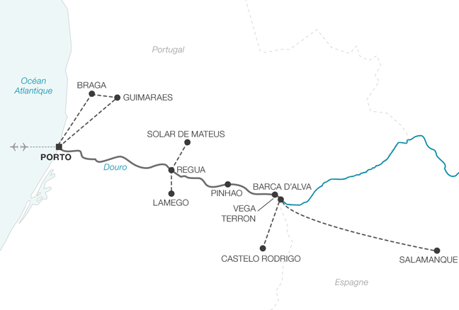 Une sélection NOTRE TEMPS : Croisière L'Or du Douro