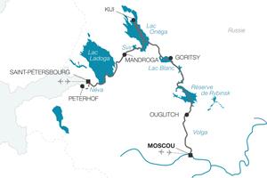 Une sélection PÈLERIN et PRIONS EN EGLISE : A la découverte de l'âme russe au fil de la Volga